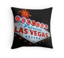 Vegas Sign No. 20 Throw Pillow