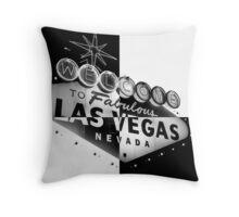 Vegas Sign No. 27 Throw Pillow