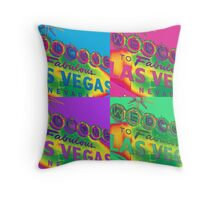 Vegas Sign No. 29 Throw Pillow
