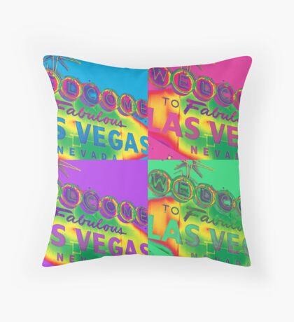 Vegas Sign No. 29 Throw Pillow
