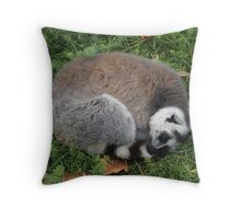 Listening To Dreams In The Grass Throw Pillow