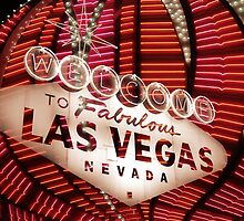 Vegas Sign No. 35 by Benjamin Padgett