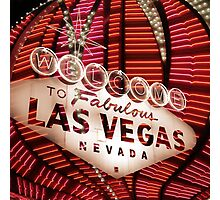 Vegas Sign No. 35 Photographic Print