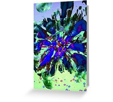 Blue Tuesday 3 Greeting Card