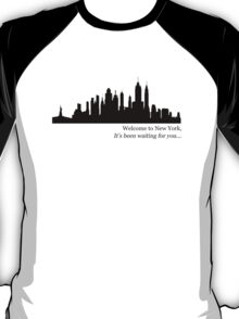 """""""Taylor Swift, Welcome to New York"""" T-Shirt"""