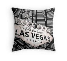 Vegas Sign No. 36 Throw Pillow