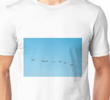 Chain of Geese  Unisex T-Shirt