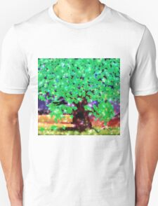 Fantasy oak tree with ravens T-Shirt
