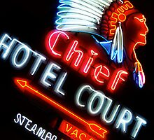 Chief Hotel by Benjamin Padgett