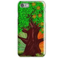 Fantasy tree at spring and summer iPhone Case/Skin