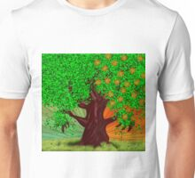 Fantasy tree at spring and summer Unisex T-Shirt