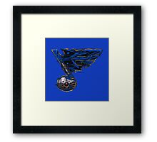 Bluesinated Framed Print