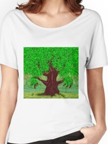 Fantasy tree at summer Women's Relaxed Fit T-Shirt