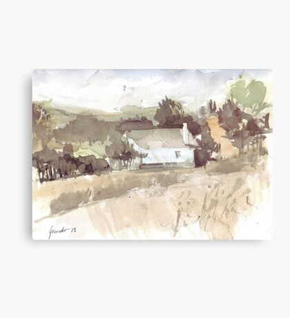 House countryside Canvas Print