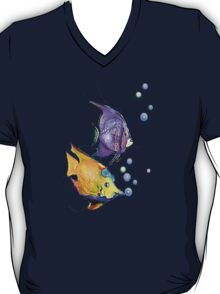FISH & BUBBLES by SHARON SHARPE T-Shirt