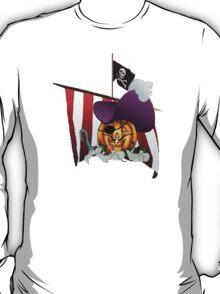 JOLLY ROGER by SHARON SHARPE T-Shirt