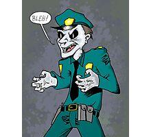 Vampire cop Photographic Print