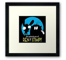 The Adventures Of Ren & Stimpy Framed Print
