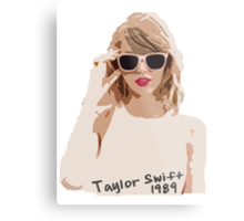 Taylor Swift Metal Print