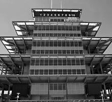 The Indianapolis Motor Speedway-Bombardier Lear Pagoda by Chad  Bracken