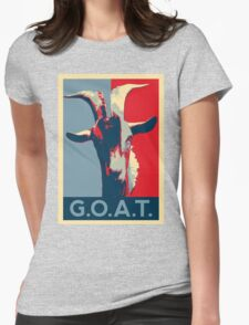 G.O.A.T. - GOAT - Greatest of all time Womens Fitted T-Shirt