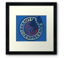 Elliott Express Framed Print