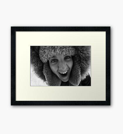 Raw! Framed Print