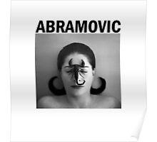 Marina Abramovic Poster