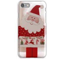 Santa toy, close up iPhone Case/Skin