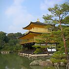 Kinkaku-ji, The Temple of the Golden Pavilion by Glen Sun