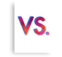 BASTILLE - VS. Canvas Print