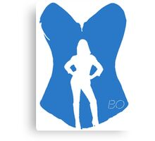 Bo the succubus - Lost Girl Canvas Print
