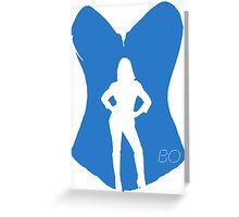 Bo the succubus - Lost Girl Greeting Card