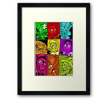 Terror Of The Undead Framed Print