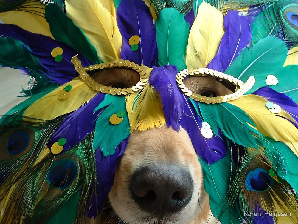 Is It Time For Mardi Gras? by Karen  Helgesen