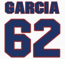 National baseball player Guillermo Garcia jersey 62 by imsport