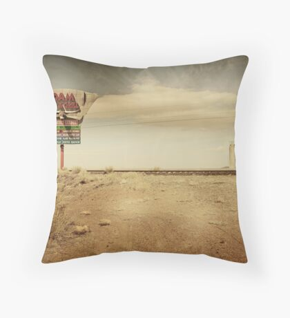 Give me a sign... Throw Pillow