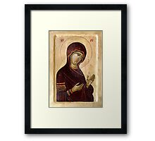 Virgin Mary Framed Print