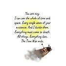 You Are tiny - Badwolf by ArkelAngel