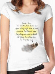 You Are tiny - Badwolf Women's Fitted Scoop T-Shirt