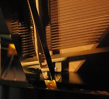 Reflection.... the Piano by Lesley  Hill