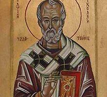 Saint Nikolas by Ivana Vuckovic