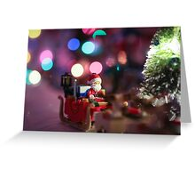 Santa Claus Lego Greeting Card