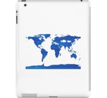 sdd World Map 1J iPad Case/Skin