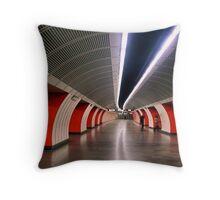Vienna Underground Throw Pillow