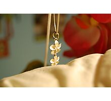 Flower Necklace Photographic Print