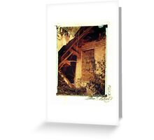 Collapsed Farm House - Milton Greeting Card