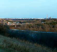 Edmonton's Oil Refinery Row by Evan Adnams