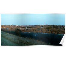 Edmonton's Oil Refinery Row Poster