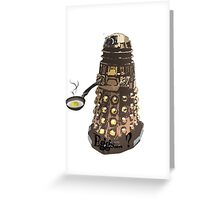 Eg..egg...s...? The Broken Dalek Greeting Card